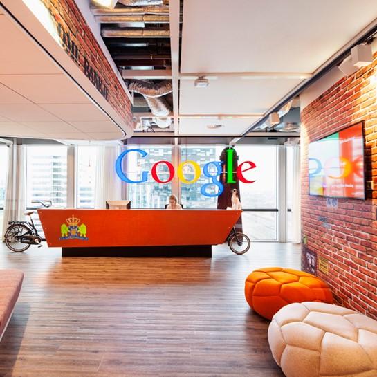 A Google Kings Cross-i irodája